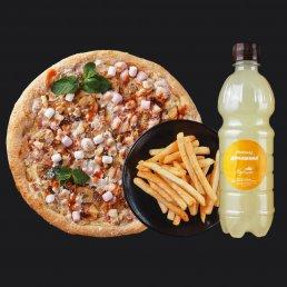 Пицца+картофель фри+лимонад