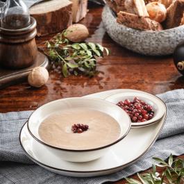 Крем-суп с мясом лося