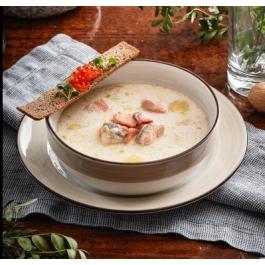 Финский суп с форелью